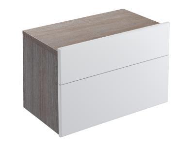 Formilia EB1020-HU-F47  КапучиноМебель для ванной<br>Тумба Jacob Delafon Formilia EB1020-HU-F47 под раковину: два плавно закрывающихся ящика, в нижнем ящике 1 стеклянная перегородка для флаконов, оборудована вместительными ящиками для предметов повседневного использования, в верхнем ящике органайзер. Доплнительно вы можете приобрести: зеркало EB1040, комплект хромированных ножек длинной 160 мм артикул EB917, вращающиеся зеркальные панели EB1038 или EB1039,  левосторонний и правосторонний зеркальные шкафы EB618G или EB618D и раковину со столешницей Formilia шириной 370 или 410 мм.<br>