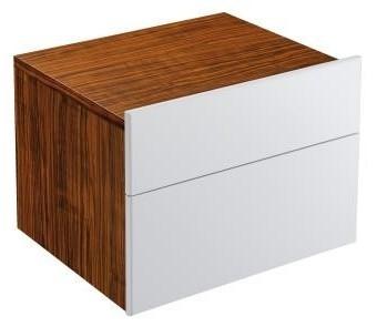 Formilia EB1020-HU-N17  ОрехМебель для ванной<br>Тумба Jacob Delafon Formilia EB1020-HU-N17 под раковину: два плавно закрывающихся ящика, в нижнем ящике 1 стеклянная перегородка для флаконов, оборудована вместительными ящиками для предметов повседневного использования, в верхнем ящике органайзер. Доплнительно вы можете приобрести: зеркало EB1040, комплект хромированных ножек длинной 160 мм артикул EB917, вращающиеся зеркальные панели EB1038 или EB1039,  левосторонний и правосторонний зеркальные шкафы EB618G или EB618D и раковину со столешницей Formilia шириной 370 или 410 мм.<br>