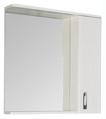 Паллада 175315 Белый глянецМебель для ванной<br>Зеркало Aquanet Паллада 175315. Цвет белый глянец. Артикул 175315.<br>