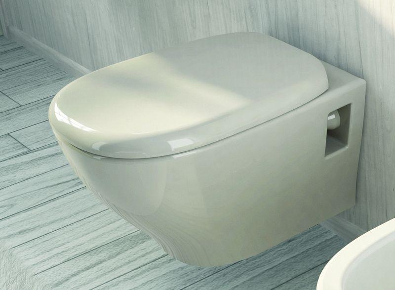 My MW 10 БелыйУнитазы<br>Hidra Ceramica My MW 10. Подвесной унитаз, цвет: белый. Дополнительно приобретается кронштейн и стульчак.<br>