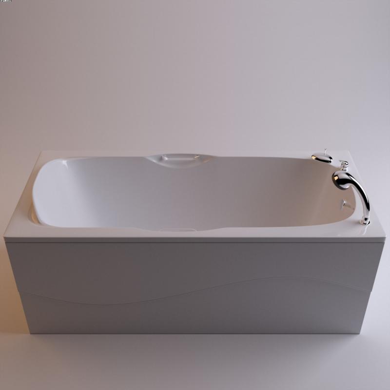Алассио 170 БелаяВанны<br>Ванна Фэма стиль Алассио 170 белая. Слив-перелив в комплект не входит.<br>