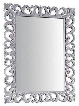 Престиж 173331 БелыйМебель для ванной<br>Зеркало Aquanet Престиж 173331. Цвет белый. Артикул 173331.<br>