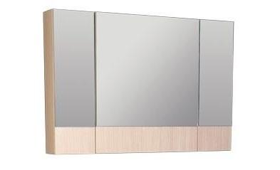 Shenxin 173988 Светлый дуб-фасад белыйМебель для ванной<br>Зеркало Aquanet 173988 Shenxin. Цвет: светлый дуб, фасад белый.<br>