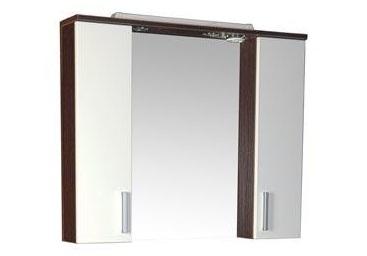 Тиана 172679 Венге-фасад-белыйМебель для ванной<br>Зеркало Aquanet Тиана 172679. Цвет венге фасад - белый. Артикул 172679.<br>