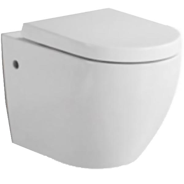 Orsa BB2376B подвесной без сиденьяУнитазы<br> Унитаз BelBagno Orsa BB2376B подвесной в стиле минимализм выглядит эффектно и свежо, обеспечит простор и функциональность ванной комнаты.<br><br> Горизонтальный выпуск.<br>Слив по всему периметру чаши унитаза.<br>Межосевое расстояние под крепежные шпильки: 18см<br>Стойкость цвета на долгие годы.<br>Гладкая поверхность.<br> В комплекте поставки чаша унитаза.<br>
