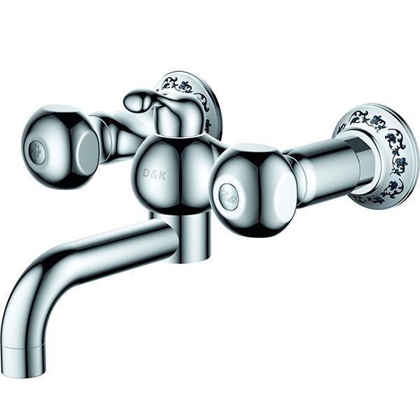 цена на Смеситель для ванны D&K Kassel Hessen DA1423201 Хром