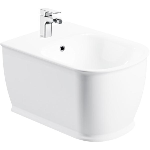 Prado BB10150BH подвесное БелоеБиде<br> Биде BelBagno Prado BB10150BH подвесное подойдет для ванной комнаты  в современном стиле, отличительной чертой которой является комфорт, лёгкость и простота. <br>Стойкость цвета на долгие годы.<br>Гладкая поверхность.<br> В комплекте поставки биде подвесное.<br>