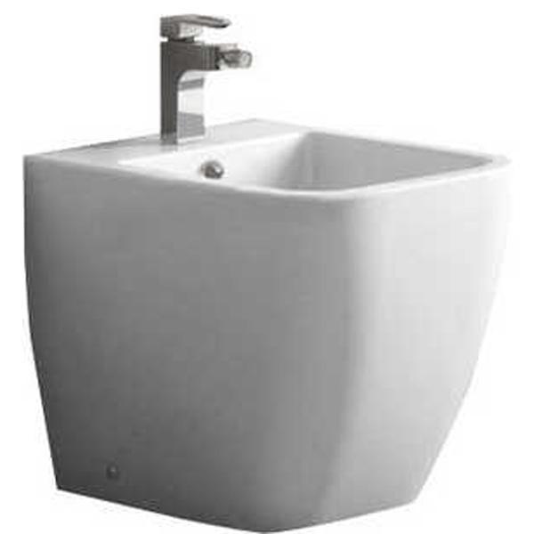 Alpina BB10100B БелоеБиде<br> Биде BelBagno Alpina BB10100B подойдет для ванной комнаты в  стиле хай тек, отличительной чертой которой являются ровные линии, прямые углы, простые формы. <br>Стойкость цвета на долгие годы.<br>Гладкая поверхность.<br> В комплекте поставки биде.<br>
