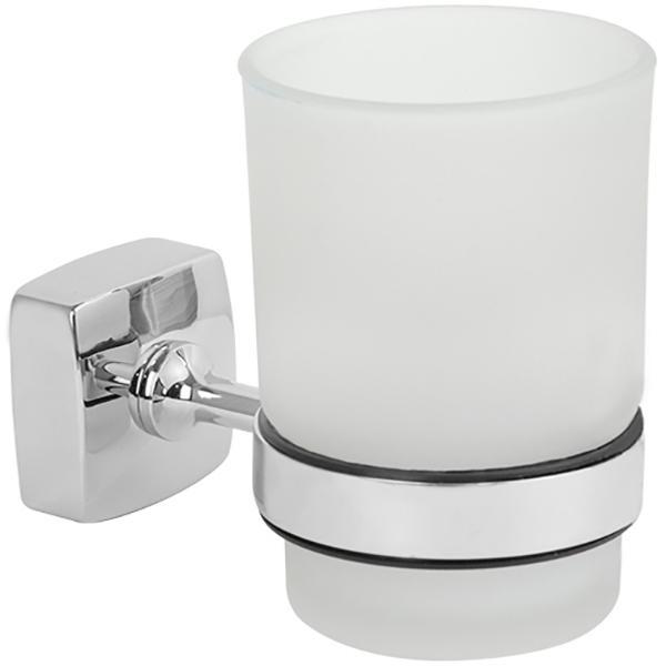 Стакан для зубных щеток Fixsen Kvadro FX-61306 Хром