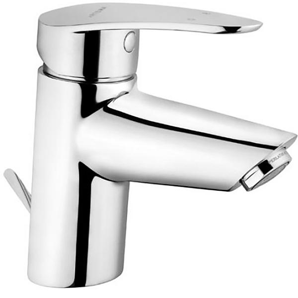 Dynamic S A40962EXP ХромСмесители<br>Смеситель для раковины Vitra Dynamic S A40950EXP с донным клапаном.<br>Особенности: <br>Донный клапан,<br>Ограничение напора и температуры воды,<br>Керамический картридж,<br>Аэратор,<br> Максимальный расход воды: 9 л/мин.<br>В комплекте поставки: <br>Смеситель. <br>