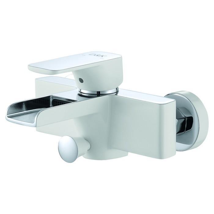 Смеситель для ванны D&K Berlin Steinbeis DA1433516 Хром Белый