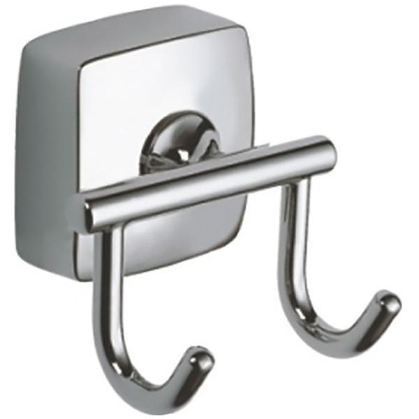 Крючок для полотенец Fixsen Kvadro FX-61305B Хром крючок двойной fixsen modern fx 51505