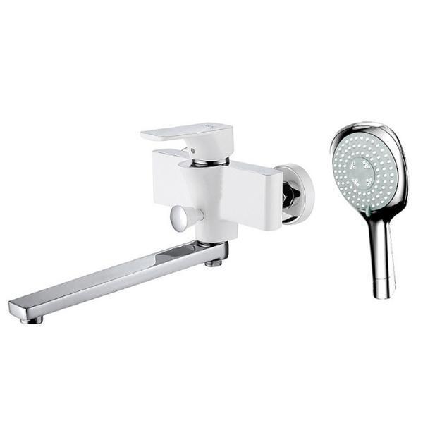 Смеситель для ванны D&K Berlin Steinbeis DA1433316 универсальный Хром Белый