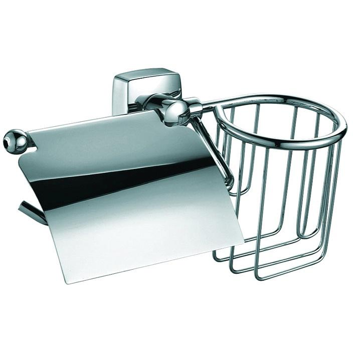 Держатель туалетной бумаги и освежителя Fixsen Kvadro FX-61309+10 Хром держатель fixsen kvadro fx 61309 10 хром