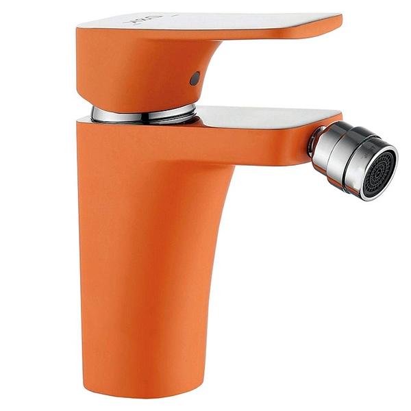 Смеситель для биде D&K Berlin Kunste DA1432213 Хром Оранжевый