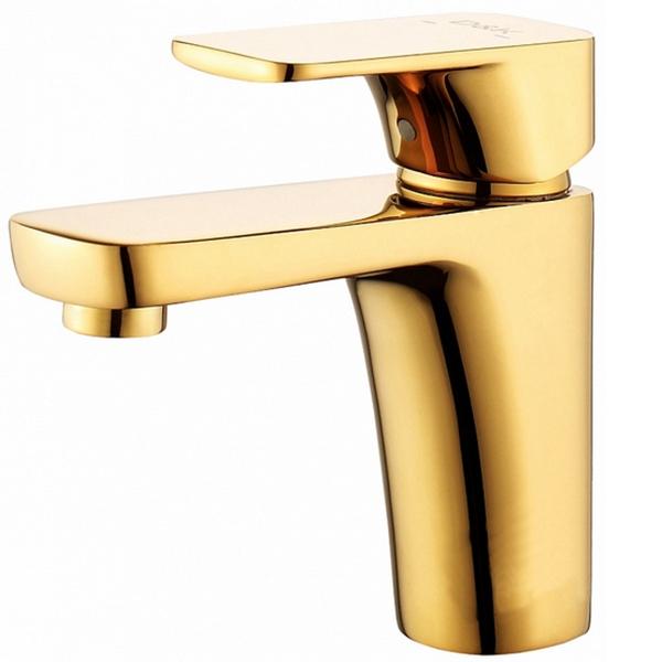 Смеситель для раковины D&K Berlin Touro DA1432103 Золото