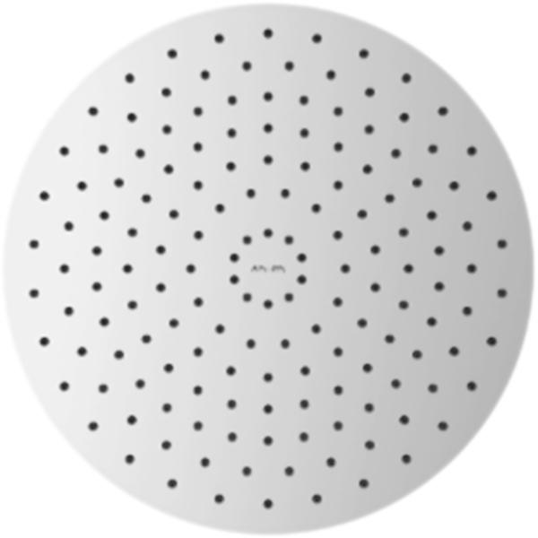 40 F05R0002 ХромВерхние души<br>Круглый верхний душ AM PM 40 F05R0002 однорежимный, с защитой от известковых отложений.<br>Покрытие: глянцевый хром.<br>Материал корпуса: латунь.<br>Силиконовые форсунки.<br>Система против известковых отложений.<br>Диаметр лейки: 40 см.<br>Стандарт подключения: G 1/2.<br><br>В комплекте поставки:<br>лейка верхнего душа.<br><br>