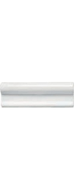 Керамический бордюр Adex Neri Moldura Lisa Blanco Z 5х15 см