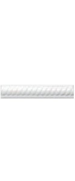Керамический бордюр Adex Neri Trenza PB Blanco Z 2,5х15 см