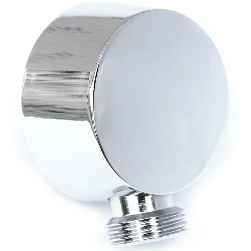 Comfort AC0988 ХромДушевые гарнитуры<br>Угловое шланговое подключение Webert Comfort AC0988015, настенное, встраиваемое.<br>Конусовидная форма подключения мягко сужается до 4.5 см в диаметре.<br>Покрытие: глянцевый хром.<br>Материал: качественная латунь с минимальным процентом свинца, &amp;lt;0.2%.<br>Состав материала соответствует международным нормам.<br>Защита от царапин, влаги и воздействия окружающей среды.<br>Подключение вход/выход: G 1/2.<br>В комплекте поставки:<br>шланговое подсоединение.<br>