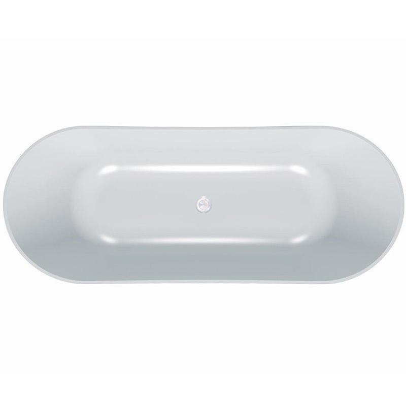 Atys FS 174x70 BasisВанны<br>Ванна из искусственного камня Kolpa San Atys FS 174x70.<br>Элегантная ванна с плавными линиями будет изящным украшением любой ванной комнаты.<br>Материал: Kerrock. Это искусственный камень, в состав которого входят гидрооксид и полимерный соединитель базы акрила. Материал гипоаллергенен, отличается прочностью и имеет гладкую поверхность без пор, что препятствует размножению бактерий и облегчает уход за ванной. Он огнеупорный и долговечный, устойчив к химикатам и механическим повреждениям.<br>Размер: 173,5x70x60 см.<br>Конструкция: на пьедестале.<br>Особенности: <br>Покрытие AntiSlip, препятствующее скольжению.<br>Ванна имеет увеличенную глубину, что позволяет с комфортом расположиться одному или двум людям.<br>Безупречное качество, подтвержденное европейским сертификатом.<br>В комплекте поставки: ванна на пьедестале, слив-перелив click-clack.<br>