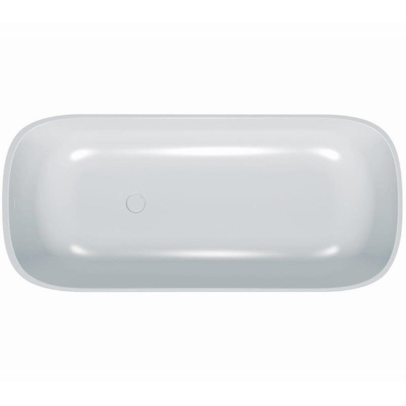 Gloria FS 180x80 BasisВанны<br>Ванна из искусственного камня Kolpa San Gloria FS 180x80.<br>Элегантная ванна с плавными линиями будет изящным украшением любой ванной комнаты.<br>Материал: Kerrock. Это искусственный камень, в состав которого входят гидрооксид и полимерный соединитель базы акрила. Материал гипоаллергенен, отличается прочностью и имеет гладкую поверхность без пор, что препятствует размножению бактерий и облегчает уход за ванной. Он огнеупорный и долговечный, устойчив к химикатам и механическим повреждениям.<br>Размер: 180x80x59.5 см.<br>Конструкция: самонесущая (на пьедестале).<br>Особенности: <br>Цельная панель по периметру ванны.<br>Покрытие AntiSlip, препятствующее скольжению.<br>Ванна имеет увеличенную глубину, что позволяет с комфортом расположиться одному или двум людям.<br>Безупречное качество, подтвержденное европейским сертификатом.<br>В комплекте поставки: ванна с самонесущей конструкцией, слив-перелив click-clack.<br>