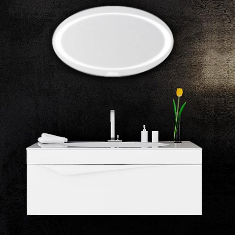 Папируc 100 подвесная БелаяМебель для ванной<br>Подвесная тумба под раковину Aqwella Папирус 100 Pap.01.10/W матовая белая, воригинальном иинтересном стиле, с двойным выдвижным ящиком, для использования в ванных комнатах с повышенной влажностью. <br>Необычная поверхность фасада: шелковистая, матовая, похожая на ткань.<br>Изящная форма ручек, подчеркивающая изысканность ибезупречность.<br>Удобное иэргономичное внутреннее пространство.<br>Материал фасада и корпуса: высококачественный испанский МДФ (FINSA).<br>Покрытие: четыре слоя краски и лака.<br>Уникальная многослойная технология (используется в постройке яхт).<br>Разработки немецких и итальянских специалистов.<br>Выдвижные элементы и навесы Blum: надежность идолговечность.<br>Максимальная нагрузка на выдвижные части: 40 кг.<br>Монтаж: подвесной, крепление к стене.<br>Отделения:<br>основной ящик: три отсека;<br>внутренний ящик: встроенный сегрегатор;<br>система полного выдвижения и мягкого закрывания (Blum).<br>В комплекте поставки:<br>тумба.<br>