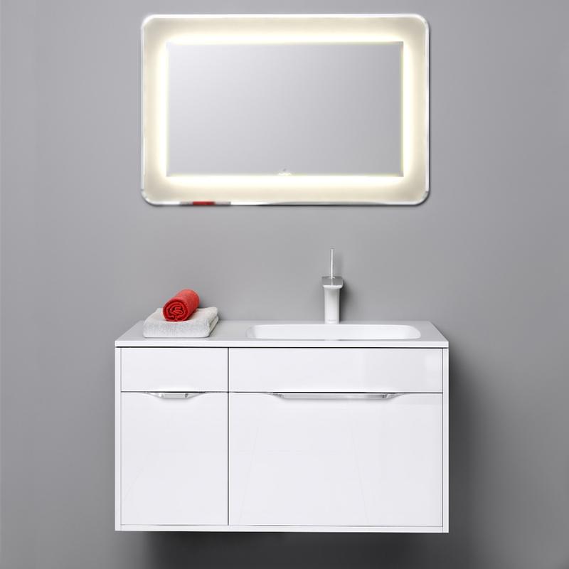 Малага 90 подвесная R БелаяМебель для ванной<br>Подвесная тумба под раковину Aqwella Малага 90 Mal.01.09/R павосторонняя, белая, с выдвижными ящиками и распашной дверцей, для использования в ванных комнатах с повышенной влажностью. <br>Материал фасада и корпуса: высококачественный МДФ.<br>Покрытие: четыре слоя высокоглянцевой эмали.<br>Экологически чистые материалы.<br>Ручки: глянцевый хром, фирменный логотип.<br>Фурнитура Blum: надежность идолговечность.<br>Монтаж: подвесной, крепление к стене.<br>Отделения:<br>правое: двойной выдвижной ящик;<br>основной ящик: один отсек; <br>внутренний ящик: разделители для удобного хранения;<br>левое: один выдвижной ящик и одна распашная дверца;<br>антискользящие резиновые коврики в ящиках;<br>система полного выдвижения и мягкого закрывания (Blum).<br>В комплекте поставки:<br>тумба.<br>