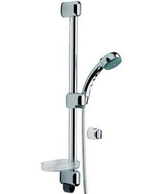 Sensiva 350 ХромДушевые гарнитуры<br>Душевой гарнитур Oras Sensiva 350. Двухфункциональный душ, защита от известковых отложений.<br>