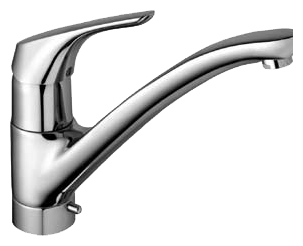 Cerasprint New B5346AA хромСмесители<br>Смеситель для кухни с клапанном для посудомоечной машины Ideal Standard Cerasprint New B5346AA.<br>- Металлическая рукоятка с индикатором горячей / холодной воды<br>- Металлический донный клапан<br>- Гибкая подводка<br>- Аэратор<br>