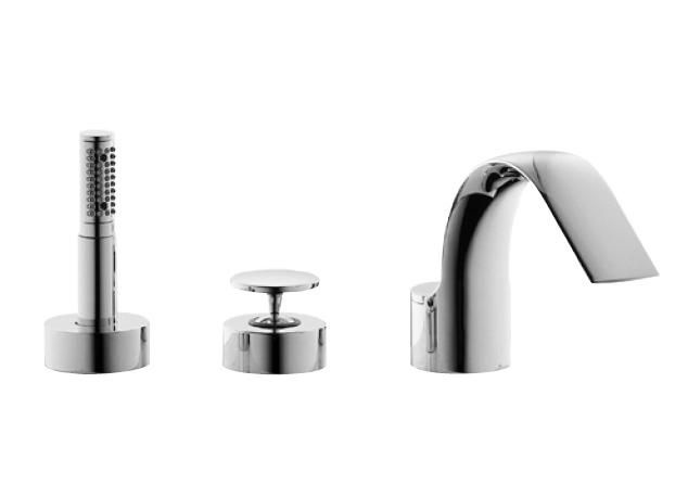 Venice A5361AA хромСмесители<br>Смеситель для ванны с душем Ideal Standard Venice A5361AA.<br>- Металлическая рукоятка с индикатором горячей / холодной воды<br>- Аэратор<br>