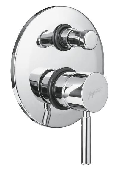 Sirio 6772 CR (хром)Смесители<br>Смеситель для ванны Bugnatese Sirio 6772 однорычажный, встраиваемый на одно отверстие, с переключателем душ/излив.<br>