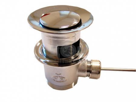 552051 ХромКомплектующие<br>Донный клапан Oras 552051, рычажный.<br>