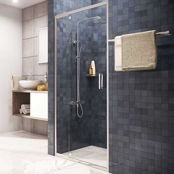 Душевая дверь WasserKRAFT Berkel 48P04 90x200 Хром душевая дверь wasserkraft berkel 48p04 9061849