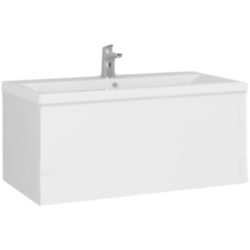 Gem 75 подвесная Глубокий синийМебель для ванной<br>Подвесная тумба под раковину AM PM Gem 75 M90FHX07521DM глубокого синего цвета, с матовой поверхностью, с одним выдвижным ящиком, для длительного срока службы в ванных комнатах с повышенной влажностью.<br>Дизайн от инновационной компании DanelonMeroni.<br>Безупречный баланс между функциональностью и дизайном.<br>Компактное решение: узкая база с глубоким ящиком.<br>Материал: высококачественный ДСП.<br>Покрытие: долговечные итальянские краски и эмали.<br>Специальная технология покраски в семь слоев.<br>Насыщенный цвет в течение всего срока службы.<br>Экологически чистые материалы.<br>Монтаж: подвесной, крепление к стене на двух навесах.<br>Удобный демонтаж без помощи инструментов, легкая регулировка.<br>Отделение:<br>один выдвижной ящик, один отсек.<br>Система Push to Open: ящик открывается нажатием на любую его часть.<br>Система Soft-Close: доводчики для плавного закрывания.<br>Максимальная нагрузка на ящик в сегменте: до 35 кг.<br>Надёжное соединение направляющей и ящика при помощи фиксатора.<br>В комплекте поставки:<br>тумба.<br>