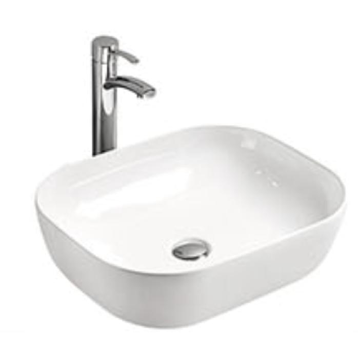 MR-5012 БелаяРаковины<br>Накладная раковина-чаша Mira MR-5012 49x40x15 в ванную комнату.<br>Дизайн: минмум элементов, изящные формы, овальная конструкция.<br>Умывальник выполнен из санфаянса, сохраняющего долгое время цвет и гладкость поверхности.<br>