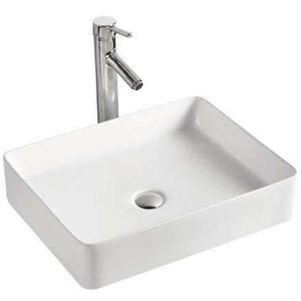MR-5002 БелаяРаковины<br>Накладная раковина-чаша Mira MR-5002 52x42x11 в ванную комнату.<br>Дизайн: минималистичный, современный с оригинальной конструкцией лаконичной прямоугольной формы.<br>Умывальник выполнен из санфаянса, сохраняющего долгое время цвет и гладкость поверхности.<br>