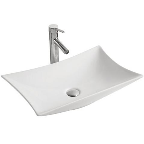 MR-5003 БелаяРаковины<br>Накладная раковина-чаша Mira MR-5003 58x38x11 в ванную комнату.<br>Дизайн: минималистичный, современный с лаконичной формой прямоугольника.<br>Умывальник выполнен из санфаянса, сохраняющего долгое время цвет и гладкость поверхности.<br>