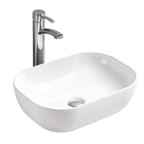 Mira MR-5023 БелаяРаковины<br>Накладная раковина-чаша Mira MR-5023 46x33x14 в ванную комнату.<br>Дизайн: овальная форма в современном минималистичном стиле.<br>Умывальник выполнен из санфаянса, сохраняющего долгое время цвет и гладкость поверхности.<br>