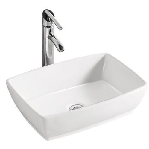 MR-6240A БелаяРаковины<br>Накладная раковина-чаша Mira MR-6240A 49x35x14 в ванную комнату.<br>Дизайн: минимум деталей, изящные грани с лаконичной прямоугольной формой.<br>Умывальник выполнен из санфаянса, сохраняющего долгое время цвет и гладкость поверхности.<br>