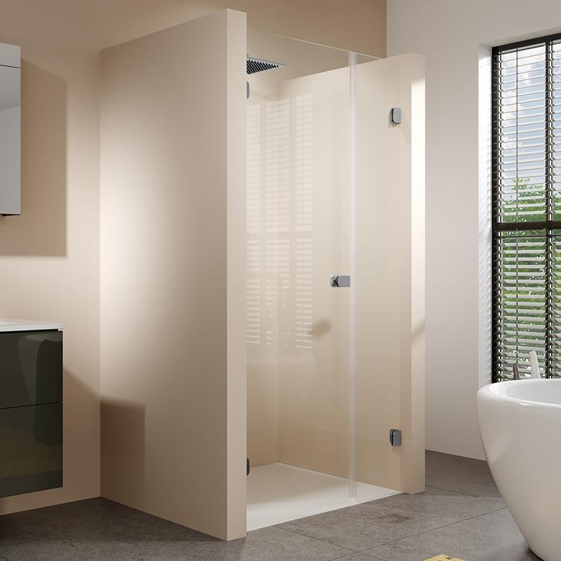 Душевая дверь в нишу Riho Scandic Soft Q102 140x200 Хром L цены онлайн