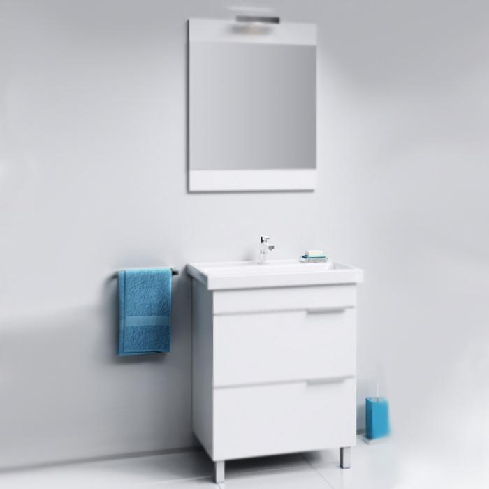 Бриг 60 Седой дубМебель для ванной<br>Тумба под раковину Aqwella Бриг 60 Br.01.06/2/Gray цвета седой дуб, с двумя выдвижными ящиками и с двумя ножками, для использования в ванных комнатах с повышенной влажностью.<br>Гармония, удобство и функциональность.<br>Материал: ламинированная ЛДСП европейского производства.<br>Лазерное нанесение кромки: монолитность всех деталей.<br>Экологически чистые материалы, сертификат качества: ISO 9001:2000.<br>Отделения: два выдвижных ящика (один отсек в каждом).<br>Монтаж: комбинированный.<br>Крепление к стене: два навеса.<br>Дополнительные напольные опоры: две ножки.<br>В комплекте поставки:<br>тумба.<br>