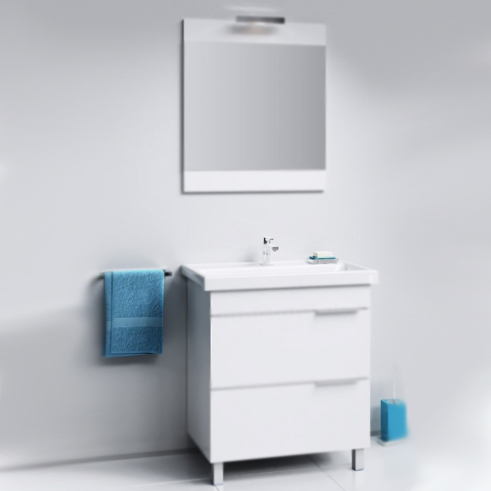 Бриг 75 Седой дубМебель для ванной<br>Тумба под раковину Aqwella Бриг 75 Br.01.07/2/Gray цвета седой дуб, с двумя выдвижными ящиками и с двумя ножками, для использования в ванных комнатах с повышенной влажностью.<br>Гармония, удобство и функциональность.<br>Материал: ламинированная ЛДСП европейского производства.<br>Лазерное нанесение кромки: монолитность всех деталей.<br>Экологически чистые материалы, сертификат качества: ISO 9001:2000.<br>Отделения: два выдвижных ящика (один отсек в каждом).<br>Монтаж: комбинированный.<br>Крепление к стене: два навеса.<br>Дополнительные напольные опоры: две ножки.<br>В комплекте поставки:<br>тумба.<br>