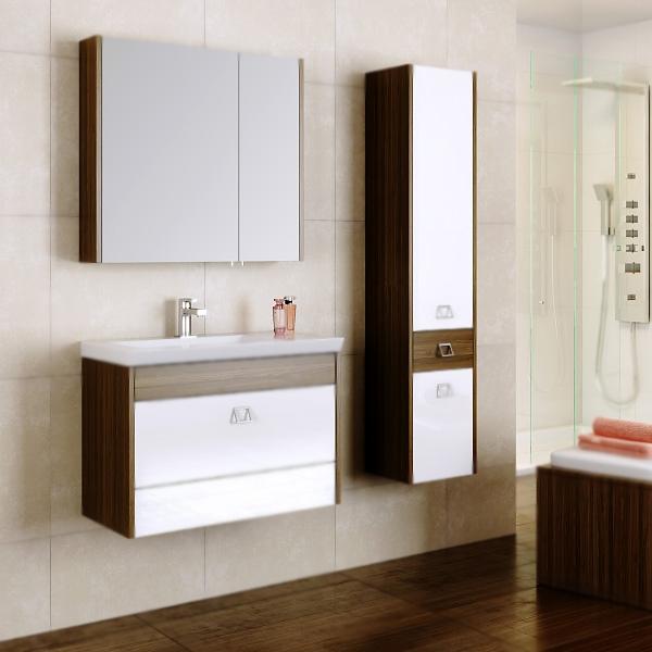 Командор 70 подвесная Белый/венге магияМебель для ванной<br>Подвесная тумба под раковину Aqwella Командор 70 Kom.01.07/VM с двумя выдвижными ящиками, для использования в ванных комнатах с повышенной влажностью.<br>Гармония, удобство и функциональность.<br>Комбинированный цвет: белый и венге магия.<br>Фасад: МДФ покрытый высокоглянцевой эмалью.<br>Корпус: ламинированная ДСП с защитными слоями высокой плотности.<br>Экологически чистые материалы, сертификат качества: ISO 9001:2000.<br>Фурнитура Blum: надежность и долговечность.<br>Монтаж: подвесной, крепление к стене. <br>Отделения:<br>верхнее: выдвижной ящик с ручкой;<br>нижнее: выдвижной ящик Push to Open.<br>Система Push to Open: ящик открывается нажатием на любую его часть.<br>Система полного выдвижения имягкого закрывания (Blum).<br>В комплекте поставки:<br>тумба.<br>