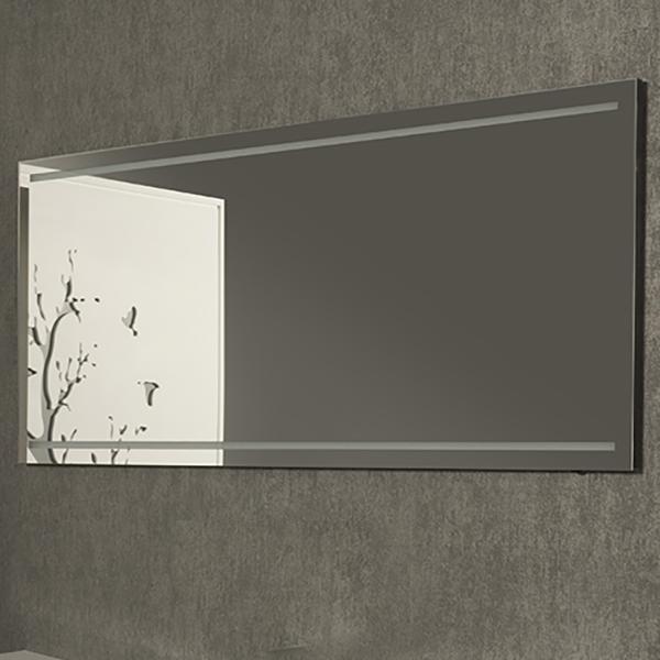 Santino 130 БелоеМебель для ванной<br>Зеркало Kolpa San Santino 130 с подсветкой.<br>Размер: 130x60x2.3 см.<br>LED-подсветка, IR – 36W.<br>Сенсорное включение и выключение подсветки.<br>Подсветка экономичнее на 20%.<br>Электрические компоненты абсолютно безопасны.<br>Безупречное качество, подтвержденное европейским сертификатом.<br>