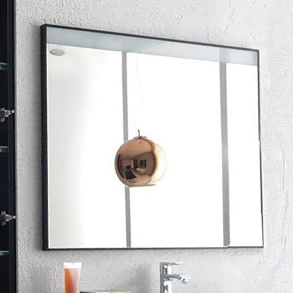 Gloria 100 БелоеМебель для ванной<br>Зеркало Kolpa San Gloria 100 с подсветкой.<br>Размер: 100x80 см, диагональ 30 дюймов.<br>LED-подсветка, IR – 36W.<br>Сенсорное включение и выключение подсветки.<br>Подсветка экономичнее на 20%.<br>Электрические компоненты абсолютно безопасны.<br>Безупречное качество, подтвержденное европейским сертификатом.<br>