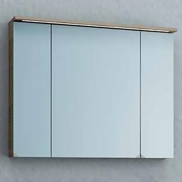 Adele 110 ДубМебель для ванной<br>Зеркальный шкаф Kolpa San Adele 110 с подсветкой.<br>Размер: 110x71.8x17 см.<br>LED-подсветка.<br>Подсветка экономичнее на 20%.<br>Электрические компоненты абсолютно безопасны.<br>Безупречное качество, подтвержденное европейским сертификатом.<br>