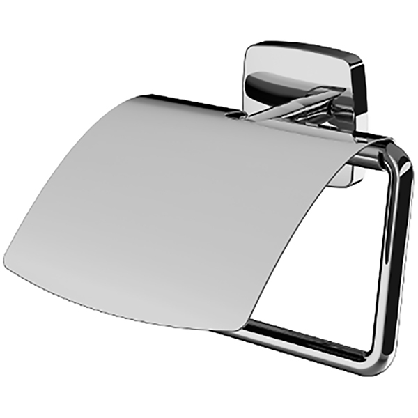 Gem A90341400 ХромАксессуары для ванной<br>Держатель для туалетной бумаги AM PM Gem A90341400.<br>Универсальный и лаконичный дизайн изделия отлично впишется в современный интерьер ванной комнаты.<br>Особенности:<br>Крышка.<br>Материал: цинк.<br>Цвет: хром.<br>