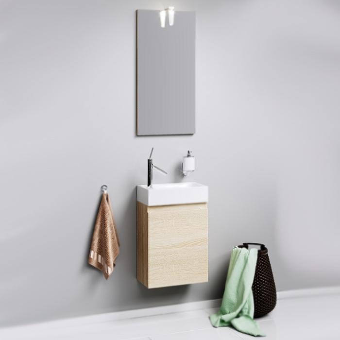 Леон-МР 40 подвесная БелаяМебель для ванной<br>Подвесная тумба под раковину Aqwella Леон-МР 40 Ln-MP.01.04/W с одной распашной дверцей, для использования в ванных комнатах с повышенной влажностью.<br>Гармония, удобство и функциональность.<br>Материал: ламинированная ДСП.<br>Экологически чистые материалы, сертификат качества: ISO 9001:2000.<br>Отделение: распашная дверца, одна полка из ДСП.<br>Монтаж: подвесной, крепление к стене.<br>В комплекте поставки:<br>тумба.<br>
