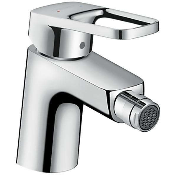 Logis Loop 71250000 ХромСмесители<br>Смеситель для биде Hansgrohe Logis Loop 71250000 с донным клапаном.<br>Однорычажный смеситель с лаконичным и современным дизайном дополнит интерьер любой ванной комнаты.<br>Особенности:<br>Технология AirPower, смешивающая воду с воздухом. Капли становятся мягче и объемнее, а расход воды - эффективнее.<br>Шарнирный аэратор.<br>Керамический картридж.<br>Возможность ограничения температуры и потока воды.<br>Совместим с проточными водонагревателями.<br>Расход воды: 7,2 л/мин.<br>